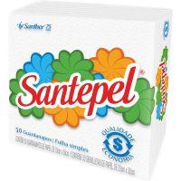 Guardanapo Folha Simples Santepel 33X30cm | Caixa com 12un - Cod. 7896110083636