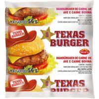 Hambúrguer Bovino Texas Seara 56g   Caixa com 36un - Cod. 7894904500383C36