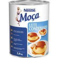 Leite Condensado Lata Moça Nestlé 2,600Kg - Cod. 7891000004180