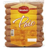 Linguiça Paio Saudali 2,5Kg | Caixa com 4 Unidades - Cod. 7898229385342C4