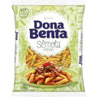Macarrão Pena Sêmola Dona Benta 500g - Cod. 7896005281697