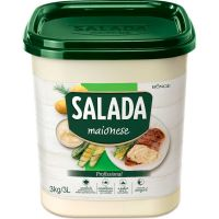 Maionese Salada Bunge Balde 3kg - Cod. 7891080132889