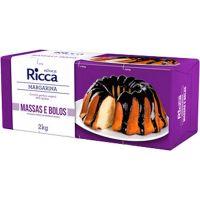 Margarina Especial Massas e Bolos Ricca 2kg | Caixa com 12un - Cod. 7891080500060C12