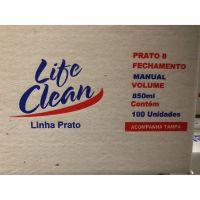 Marmitex Descartável 08 Manual Life Clean - Cod. 7898958607548