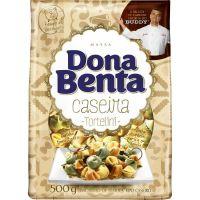 Massa Caseira Colorida Tortelini Dona Benta 500g - Cod. 7896005276846