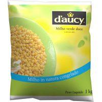 Milho Verde Congelado Daucy 1kg | Caixa com 10 Unidades - Cod. 3248451064104