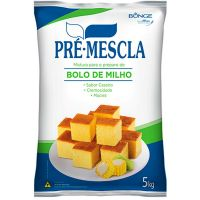 Mistura Para Bolo de Milho Pré Mescla 5kg - Cod. 7891080100475