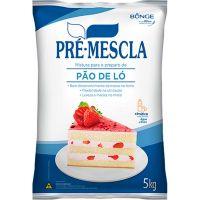 Mistura Para Pão de Ló Pré Mescla 5kg - Cod. 7891080100550