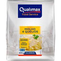 Molho Quatro Queijos Qualimax 400g - Cod. 7891122114392