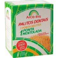 Palito Arco Iris 2000un   Caixa com 2000un - Cod. 7898050900080C2000