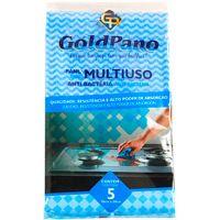 Pano Multiuso Goldpano 5un | Caixa com 5un - Cod. 742832441629C5