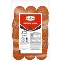 Pepperoni Resfriado Fatiado Santa Clara 1kg - Cod. 7896504302343