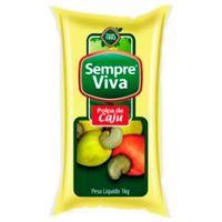 Polpa Caju Sempre Viva 1,02kg | Caixa com 10un - Cod. 7897032400525C10
