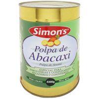 Polpa de Abacaxi Simons 4,3Kg - Cod. 7896305800314
