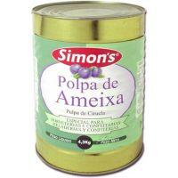 Polpa de Ameixa Simons 4,3Kg - Cod. 7896305800321