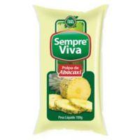 Polpa de Fruta Abacaxi Sempre Viva 100g | Caixa com 12 Unidades - Cod. 7897032401485C12