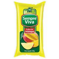 Polpa de Fruta Manga Sempre Viva 100g | Caixa com 12 Unidades - Cod. 7897032401560C12