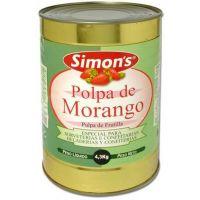 Polpa de Morango Simons 4,3Kg - Cod. 7896305800024
