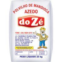 Polvilho Azedo Do Zé 25kg - Cod. 7897702511254
