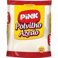 Polvilho Azedo Pink 1kg   Caixa com 20un - Cod. 7896229600168C20