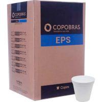 Pote Descartável de Isopor Térmico Copobras 120ml com 50 unidades - Cod. 7896030897290