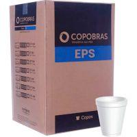 Pote Descartável de Isopor Térmico Copobras 240ml com 50 unidades - Cod. 7896030897313