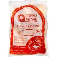 Pão de Batata Peru com Queijo Branco Forno de Minas 105g com 10 Unidades - Cod. 7896074602553