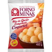 Pão de Queijo Coquetel Forno de Minas 400g - Cod. 7896074601068