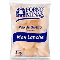 Pão de Queijo Max Lanche Forno de Minas 1kg - Cod. 7896074603888