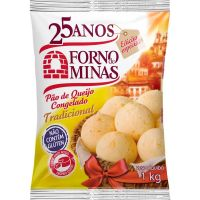 Pão de Queijo Tradicional Forno de Minas 1kg - Cod. 7896074602935