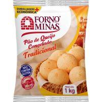 Pão de Queijo Tradicional Forno de Minas 1kg - Cod. 7896074604380