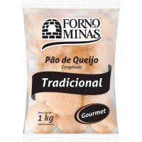 Pão de Queijo Tradicional Gourmet Forno de Minas 1kg - Cod. 7896074603451