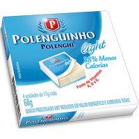 Queijo Polenguinho Light 17g - Cod. 7891143017443