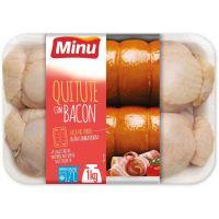 Quitute Congelado Frango c/ Bacon Minu 1kg - Cod. 7896000950215