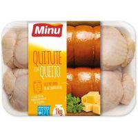 Quitute Congelado Frango c/ Queijo Minu 1kg - Cod. 7896000950253