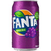 Refrigerante Fanta Uva 350ml   Caixa com 12un - Cod. 7894900050011C12