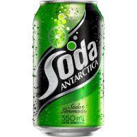 Refrigerante Soda Limonada Antartica 350ml   Caixa com 12un - Cod. 7891991000833C12
