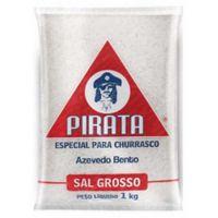 Sal Grosso Pirata 1kg | Caixa com 15 Unidades - Cod. 7896314501189