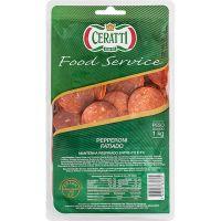Salame Pepperoni Fatiado Ceratti 1Kg | Caixa com 3 Unidades - Cod. 7898907631709C3