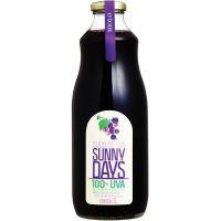 Suco Integral Tinto Uva Sunny Days Miolo 1L | Caixa com 6un - Cod. 17896100502908C6