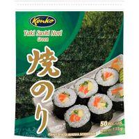 Yaki Sushi Nori Green Kenko 125g com 50 folhas - Cod. 7896007839773