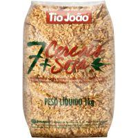 Arroz 7 Cereais + Soja Tio João 1kg - Cod. 7893500044994C10