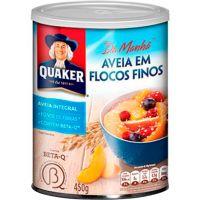 Aveia em Flocos Finos Quaker 450g - Cod. 7894321208022C24