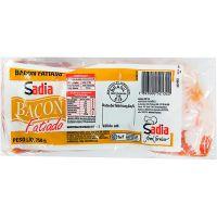 Bacon Fatiado Sadia 750g | Caixa com 14 Unidades - Cod. 7893000521322C14