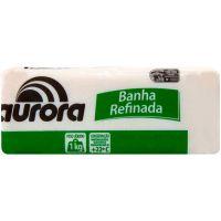 Banha Suína Refinada Aurora 1kg - Cod. 7891164007010C24