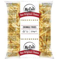 Batata Congelada Crinkle Cut Chips McCain 2,5kg | Caixa com 5 Unidades - Cod. 7797906054499C5