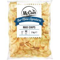 Batata Congelada Maxi Chips McCain 2kg | Caixa com 5 Unidades - Cod. 7104380918924C5