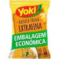 Batata Palha Extra Fina Yoki Pacote 280g   Caixa com 8 Unidades - Cod. 7891095029167C8