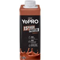 Bebida Láctea sabor Chocolate Yopro 250ml - Cod. 17891025115653