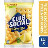 Biscoito Club Social Manteiga Temperada 23,5g | Caixa com 44 - Cod. 7622010002060C44